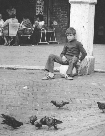 L'Enfant et les pigeons